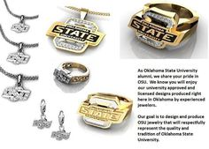 Oklahoma State University Jewelry