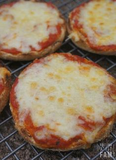 English Muffin Pizza With Whole Wheat English Muffins, Pizza Sauce, Shredded Cheese, Pizza Toppings