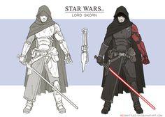 SterWars Lord Skorn Concept by RedSkittlez-DA on DeviantArt