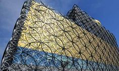 Built at a cost of £188 million, the new Library of Birmingham (UK) will open on Tuesday 3rd September. the theory being that state of the art libraries are a bigger draw than museum (think the Getty museum in Bilbao)