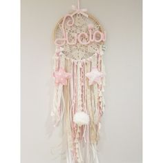 Dreamy boho wall decorations for the kids room - Paul & Paula Diy Arts And Crafts, Decor Crafts, Diy Crafts, Pastel Home Decor, Dream Catcher Art, Pastel House, Babe Cave, Kids Decor, Knitting Projects