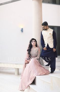 #pakistaniweddings #bride #groom #couture