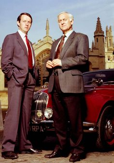 Inspector Morse - ITV based on the novels of Colin Dexter. It starred John Thaw as Chief Inspector Morse and Kevin Whately as Sergeant Lewis. Detective Series, Mystery Series, Pbs Mystery, Kevin Whately, Inspector Lewis, Masterpiece Theater, Tv Detectives, Oxford, Bbc Tv