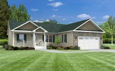 View our numerous modular home floor plans and elevations, like this Cloverdale.