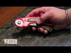 Leather Craft Training #4 - Cutting Leather - Basic Skills HD