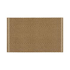 CRATE & BARREL -- Trellis Natural Indoor-Outdoor Rug -- love this, they have other styles. Target also carrying a line of Indoor/Outdoor rugs.