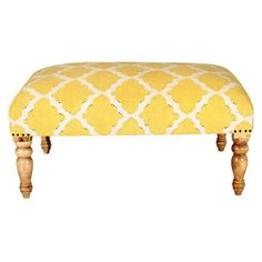 Katara Yellow Bench