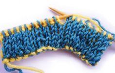 Plekontas.gr - Διπλό πλέξιμο - Double knitting