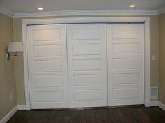Master Bedroom Closet doors | 3-door bypass | Chuck Tracey | Flickr