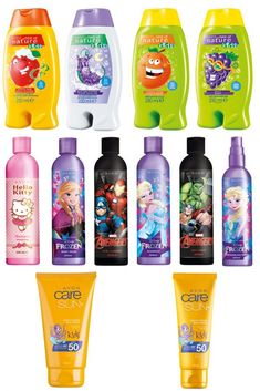 Make bath time, fun time! When in the shop, please choose Nataie Wattleworth as the Representative Avon Care, Sun Lotion, Fun Time, Shampoo And Conditioner, Bath Time, Sun Protection, Body Wash, How To Be Outgoing