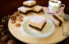 Prăjitura cu cremă de nuci și aluat fraged Tiramisu, Cheesecake, Food And Drink, Orice, Ethnic Recipes, Desserts, Cakes, Sweet 16 Makeup, Sweet Makeup