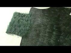 Валяние из шерсти ✿ Воротник - стойка для платья ✿ МК Лены Баймут - YouTube