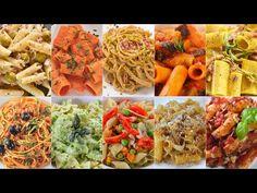 COMPILATION DI PRIMI PIATTI FACILI E VELOCI - 10 Ricette per Pasta - Fatto in Casa da Benedetta 2️⃣ - YouTube Baking School, Pasta Al Dente, Spaghetti Casserole, Ravioli, Gnocchi, Food And Drink, Healthy Eating, Cooking Recipes, Vegetarian