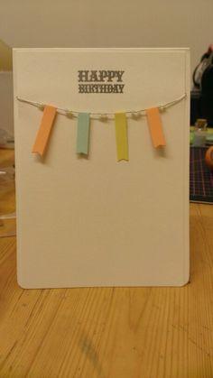 Banner Happy Birthday card