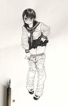 Manga Drawing, Manga Art, Comic Style Art, Wie Zeichnet Man Manga, Writing Art, Anime Art Girl, Character Illustration, Cute Art, Art Sketches
