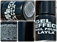 Layla Gel Effect Nail Polish 10 http://miserylovesblue.blogspot.it/2014/08/layla-gel-effect-nail-polish-10.html