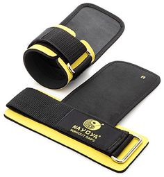Weight Lifting Straps - With Built in Adjustable Wrist Support Wrap and Palm Protecting Grip Pads Nayoya Wellness http://www.amazon.com/dp/B00HUFXZG4/ref=cm_sw_r_pi_dp_9BFfvb1WS9BTD