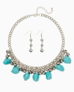 charming charlie | Rodeo Queen Necklace Set | UPC: 450900489625 #charmingcharlie