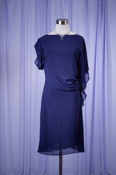 1bf70deab0c08 ARMANI アルマーニ ネイビードレス - 結婚式・パーティドレス レンタル