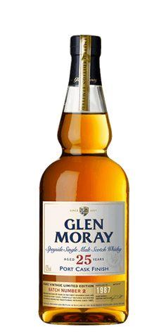 Glen Moray 25 Year Old Port Cask Finish Single Malt Whisky