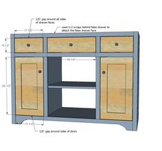 Woodworking Building A Bathroom Vanity From Scratch Plans