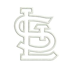 1000 images about embroidery boys trucks on pinterest for St louis cardinals logo coloring pages