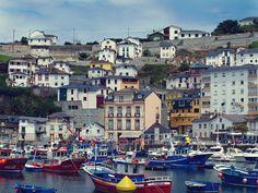Luarca, Asturias, Spain.