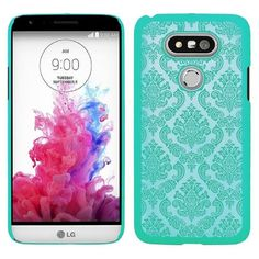 LG G5 - Damask Lace With Matching Border Case in Assorted Colors