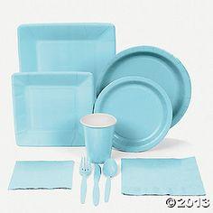 Light Blue Tableware