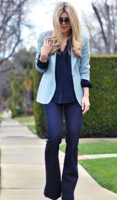 15 Ways to Wear Your Flare Leg Jeans