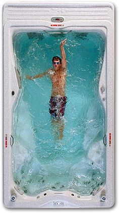 swim against an adjustable current - H2K swim spa