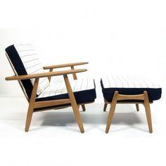 Cigar Lounge Chair by Hans Wegner for Getama