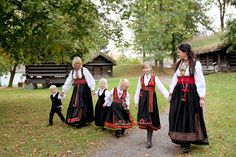 Each region of Norway has their own costume style. This is the bunad of Telemark! https://www.facebook.com/visittelemark?directed_target_id=0