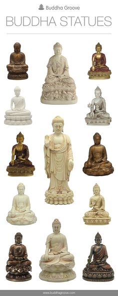 Awe-inspiring Buddha Statues by Buddha Groove for your home and garden.