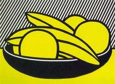 Bananas and Grapefruit no. 1 - Roy Lichtenstein