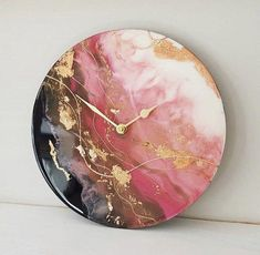 """Excellent """"abstract art paintings techniques"""" detail is readily available on our website. Have a look and you wont be so… – resin crafts Diy Resin Art, Epoxy Resin Art, Diy Resin Crafts, Wood Resin, Stick Crafts, Art Crafts, Acrylic Pouring Art, Acrylic Art, Clock Art"""