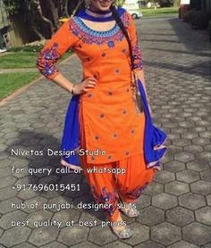 """for enquiry kindly send msg or call +917696015451, & for what,s up +917696015451 EMAIL: <a href=""""mailto:nivetasfashion@gmail.com"""" rel=""""nofollow"""">nivetasfashion@gm...</a> we can make any color combination we ship all over the world <a class=""""pintag searchlink"""" data-query=""""%23punjabi"""" data-type=""""hashtag"""" href=""""/search/?q=%23punjabi&rs=hashtag"""" rel=""""nofollow"""" title=""""#punjabi search Pinterest"""">#punjabi</a> <a class=""""pintag"""" href=""""/explore/patiala/"""" title=""""#patiala explore…"""
