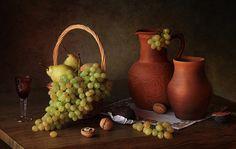 Still life with grapes by Tatiana Skorokhod - Photo 140079771 - 500px