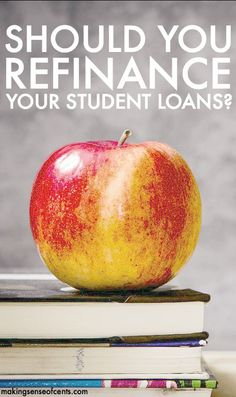 Many don't realize that they can refinance their student loans. Here's what you should know before refinancing student loans plus a quick SoFi review. student debt payoff, student loans