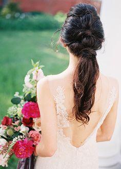 Wedding Ponytail   Brides.com