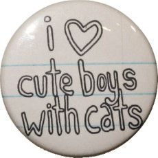 Cute Boys With Cats-go to this site!!! it's a bunch of pics of hot guys with cats! lol