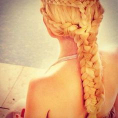 blonde braid,  Go To www.likegossip.com to get more Gossip News!