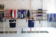 Folk Clothing Retail Interior Design - IYA Studio