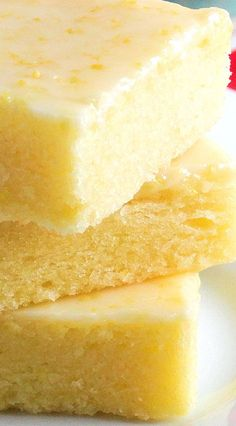 Best Ever Lemon Brownie Bars by WickedGoodKitchen... ~ Fudgy, lemony and irresistible! The texture of these citrus bars is very similar to brownies and the glaze is like pure sunshine. Perfect for summer entertaining and picnics! Includes gluten free option.