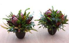 protea table centrepieces