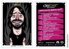 DeBar - Postal Marzo: Dave Grohl | por maldibujado