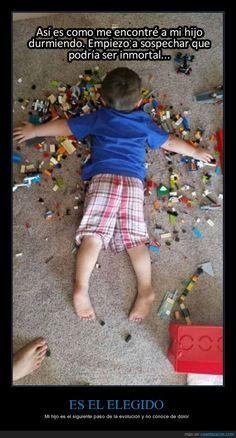 ES EL ELEGIDO - Mi hijo es el siguiente paso de la evolución y no conoce de dolor