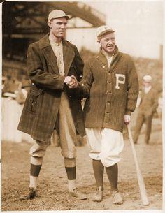 Ernie Shore/ Pete Alexander, Phillies, 1915 WS