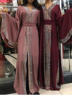 abaya fashion Made in dubai abaya stone sunshine # # Abaya Fashion, Muslim Fashion, Modest Fashion, Fashion Dresses, Fashion Fashion, Fashion Ideas, Vintage Fashion, Abaya Mode, Mode Hijab
