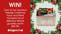 Help me win this amazing Christmas Hamper from Wine Hampers, Christmas Competitions, Christmas Hamper, Christmas Recipes, Wine Recipes, Amy, Goodies, Amazing, Places